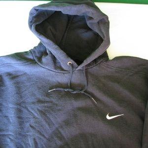 Vintage Nike Black Hoodie, XL